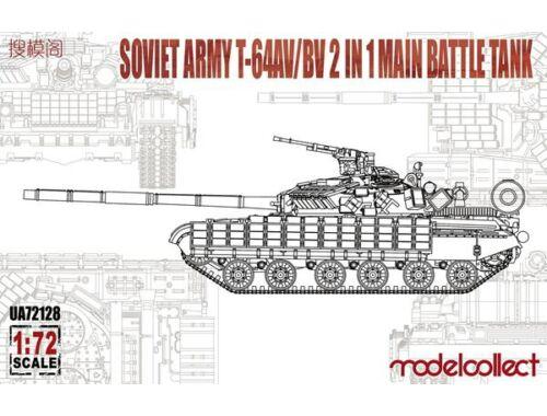 Modelcollect Soviet T-64AV/BV 2in1 1:72 (UA72128)