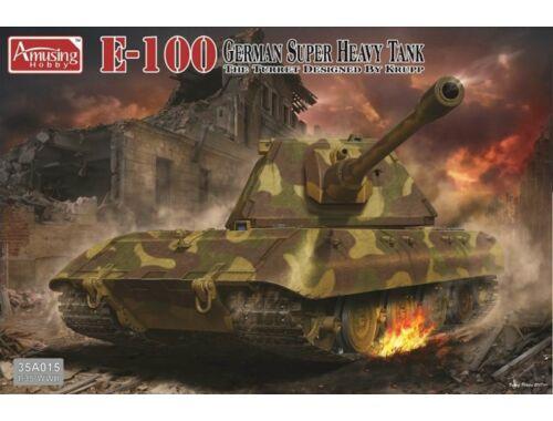 Amusing H. German Super Heavy Tank E-100 1:35 (35A015)