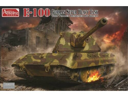 Amusing H. German Super Heavy Tank E-100 1:35 (35A015)