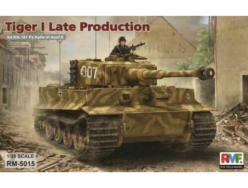 Rye Field Model Tiger I Late Production 1:35 (5015)