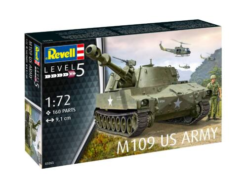 Revell M109 (USA) 1:72 (3265)