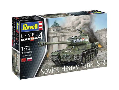 Revell Soviet Heavy Tank IS-2 1:72 (3269)