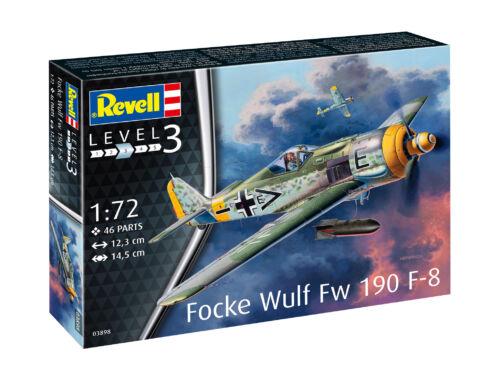 Revell Focke Wulf Fw190 F-8 1:72 (3898)