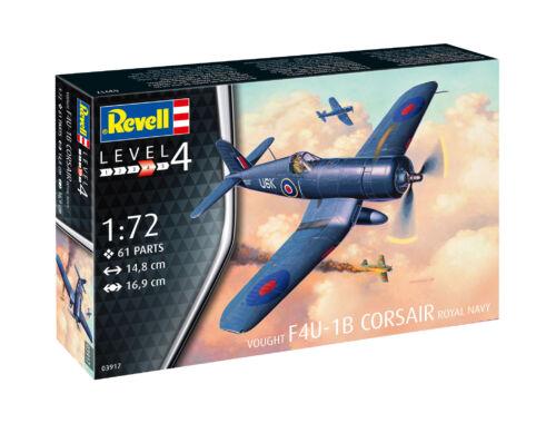 Revell F4U-1B Corsair Royal Navy 1:72 (3917)