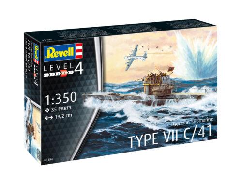 Revell German Submarine Type VII C/41, 1:350 (5154)