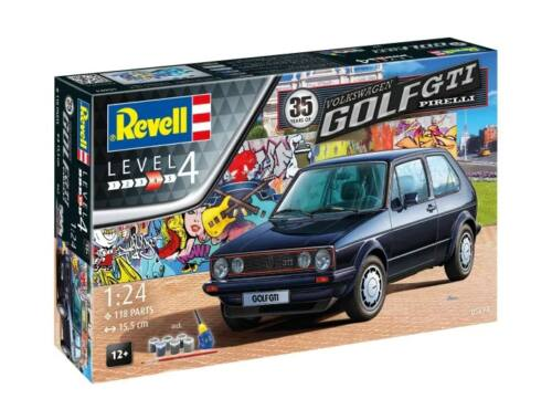 Revell Gift Set 35 Years VW Golf 1 GTi Pirelli 1:24 (5694)