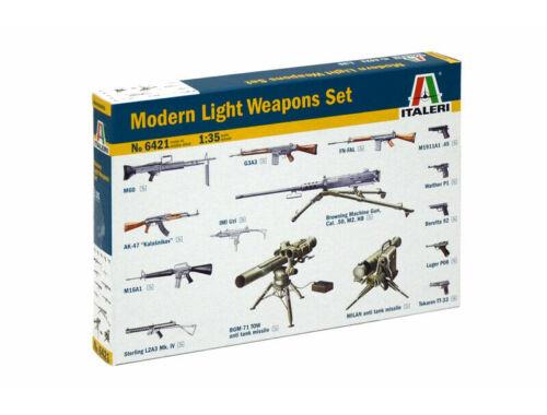 Italeri Modern Light Weapon Set 1:35 (6421)