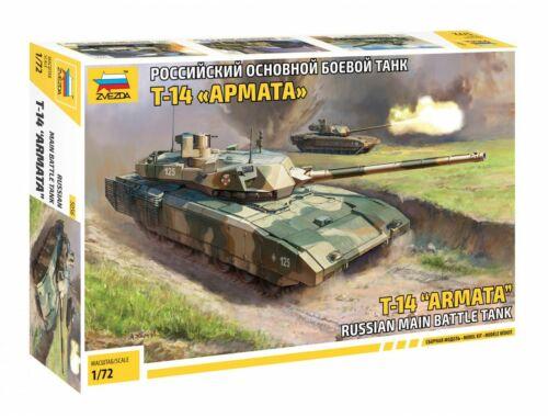 Zvezda Russian T-14 Armata 1:72 (5056)