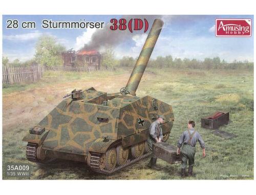 Amusing H. Sturmmorser 38(D) 28cm 1:35 (35A009)