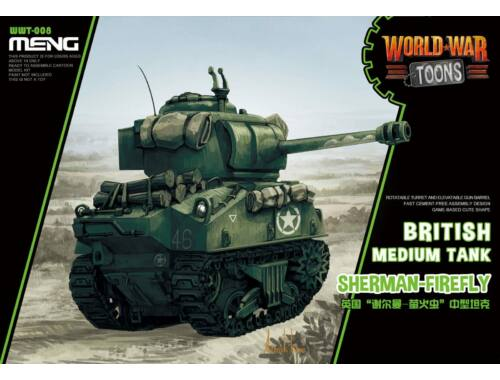 Meng English Sherman-Firefly WW Toons Model (WWT-008)