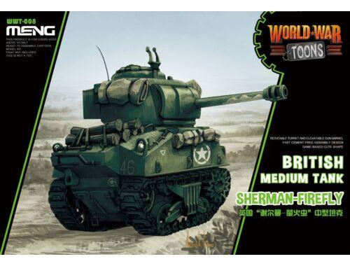 Meng English Sherman-Firefly WW Toons Model (WWT-008)