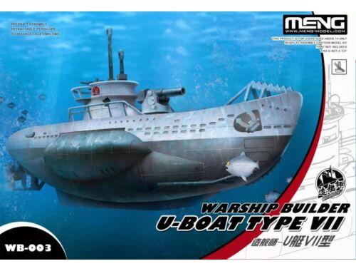 Meng U-Boat Type VII Warship Builder (WB-003)