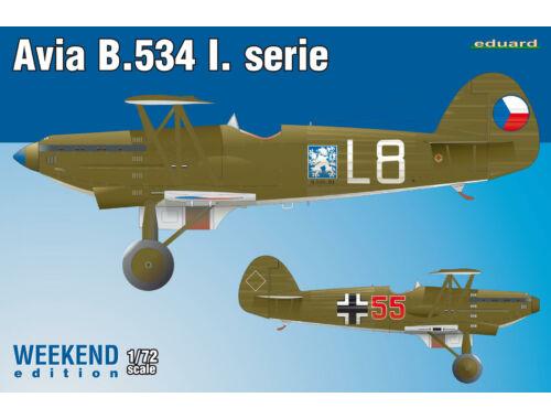 Eduard Avia B-534 I. serie WEEKEND edition 1:72 (7446)