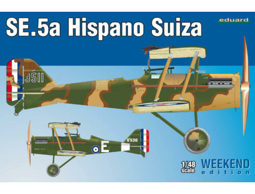 Eduard SE.5a Hispano Suiza WEEKEND edition 1:48 (8453)