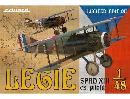 Eduard Legie - SPAD XIII čs. pilotů LIMITED EDITION 1:48 (11123)