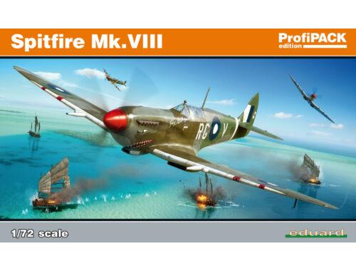 Eduard Spitfire Mk.VIII ProfiPACK 1:72 (70128)