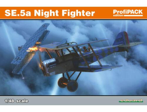 Eduard SE.5a Night Fighter ProfiPACK 1:48 (82133)