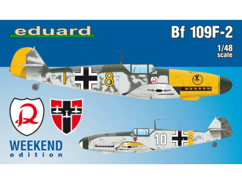 Eduard Bf 109F-2 WEEKEND edition 1:48 (84147)