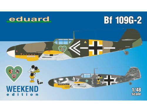 Eduard Bf 109G-2 WEEKEND edition 1:48 (84148)