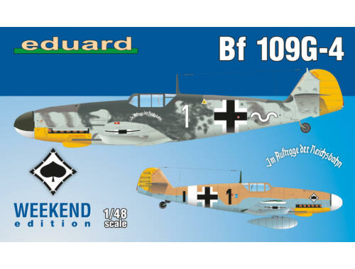 Eduard Bf 109G-4 WEEKEND edition 1:48 (84149)
