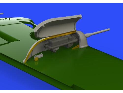 Eduard Bf 109G gun pods for TAMIYA 1:48 (648403)