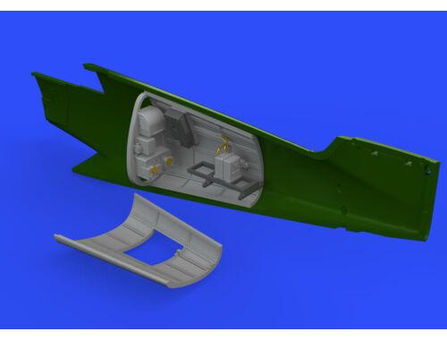Eduard Bf 109G-6 radio compartment for TAMIYA 1:48 (648404)