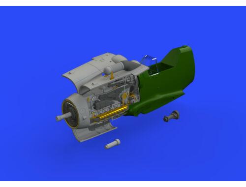 Eduard Bf 109G-6 engine for TAMIYA 1:48 (648406)