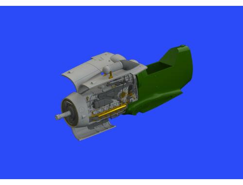Eduard Bf 109G-6/U4 engine for TAMIYA 1:48 (648427)