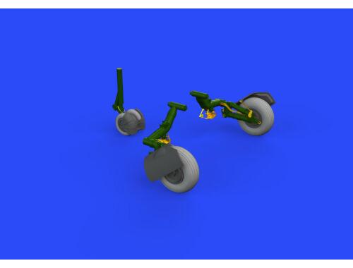Eduard MiG-23ML wheels for EDUARD/TRUMPETER 1:48 (648431)