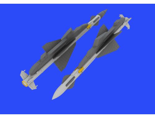 Eduard R-23R missiles for MiG-23 for EDUARD/TRUMPETER 1:48 (648432)