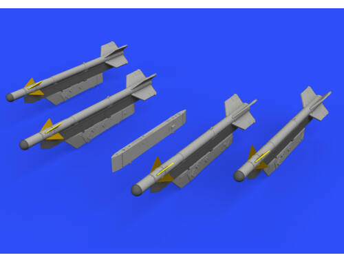 Eduard R-3S missiles w/ pylons for MiG-21 for EDUARD 1:72 (672186)