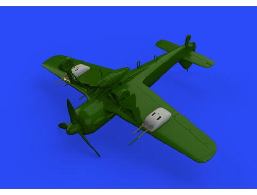 Eduard Fw 190A-5/U12 gun pods for EDUARD 1:72 (672196)
