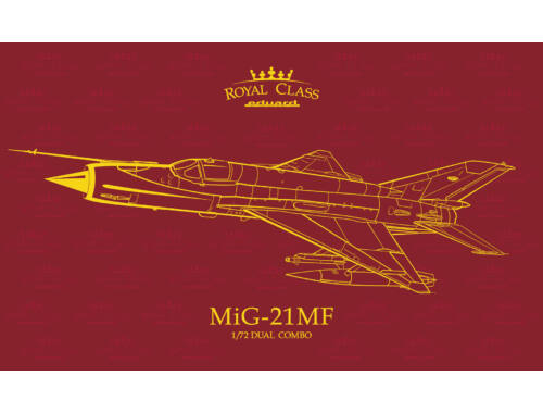 Eduard MiG-21MF ROYAL Class 1:72 (R0017)