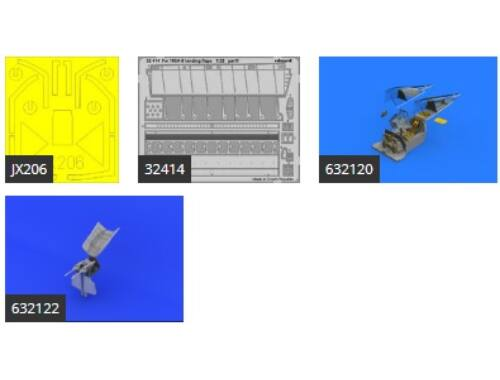 Eduard Fw 190A-8/R11 PART I for REVELL 1:32 (SIN63214)