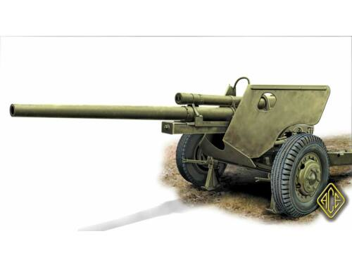 ACE US 3 inch AT Gun M-5 on carriage M-6 1:72 (72531)