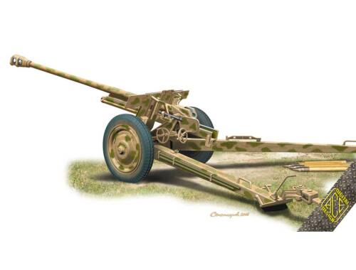 ACE Pak.36(r) German 7.62cm field gun 1:72 (72571)