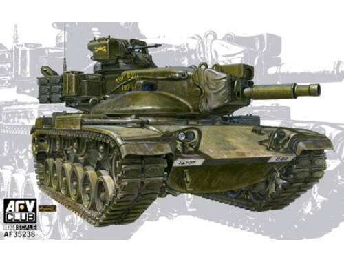 AFV Club M60A2 Patton Early version 1:35 (AF35238)