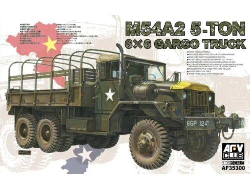 AFV Club M54A2 5-Ton 6x6 Cargo Truck 1:35 (AF35300)