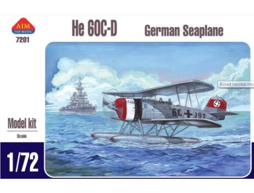 AIM German seaplane He-60C-D 1:72 (7201)