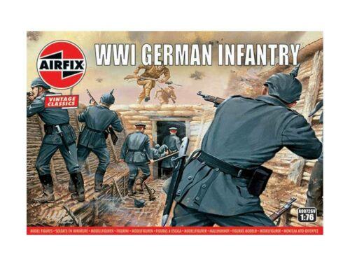 Airfix WWI German Infantry,Vintage Classics 1:76 (A00726V)