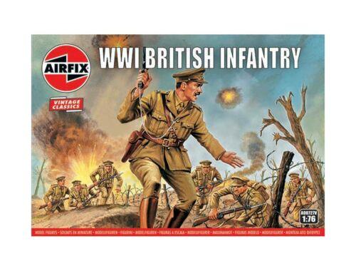 Airfix WWI British Infantry, Vintage Classics 1:76 (A00727V)