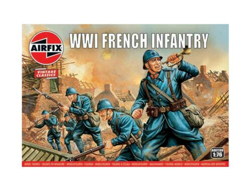 Airfix WWI French Infantry, Vintage Classics 1:76 (A00728V)