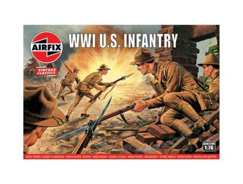 Airfix WWI U.S. Infantry, Vintage Classics 1:76 (A00729V)