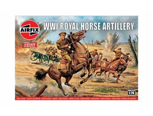 Airfix WWI Royal House Artillery,Vintage Classi 1:76 (A00731V)