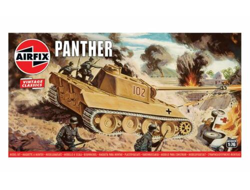 Airfix Panther Tank, Vintage Classics 1:76 (A01302V)