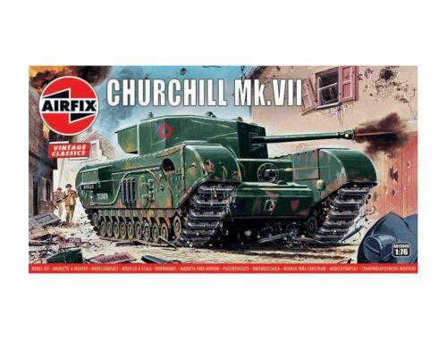Airfix Churchill Mk.VII Tank, Vintage Classics 1:76 (A01304V)