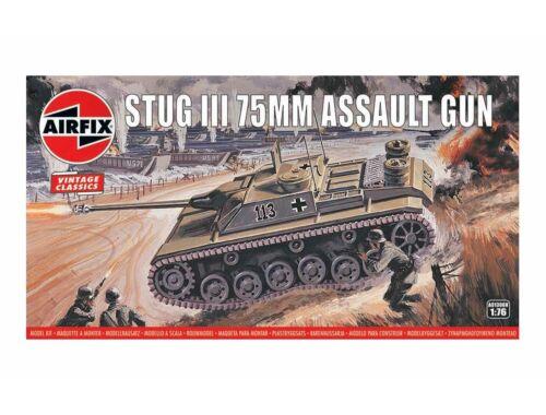 Airfix Stug III 75mm Assault Gun,Vintage Classi 1:76 (A01306V)