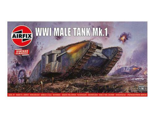 "Airfix WWI ""Male"" Tank Mk.I,Vintage Classics 1:76 (A01315V)"