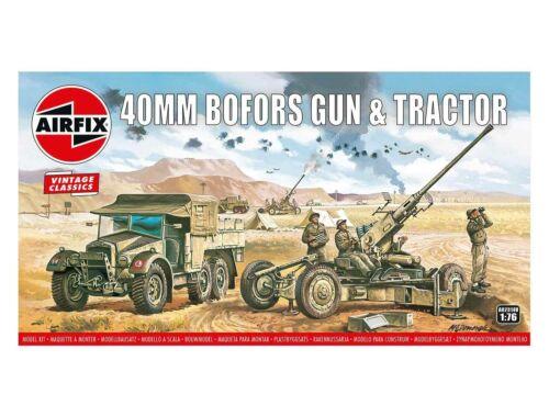 Airfix Bofors 40mm Gun