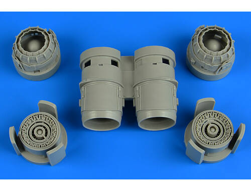 Aires Tornado exhaust nozzles for Revell 1:48 (4736)